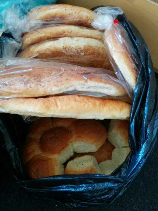 Turkish bread and large buns