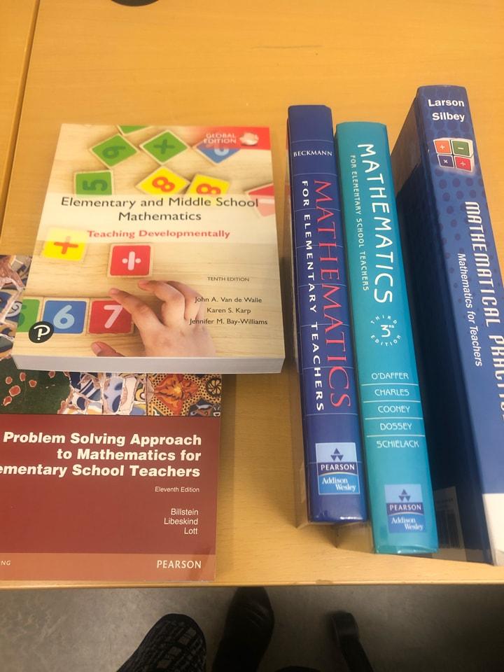 Books for math teachers in elementary school