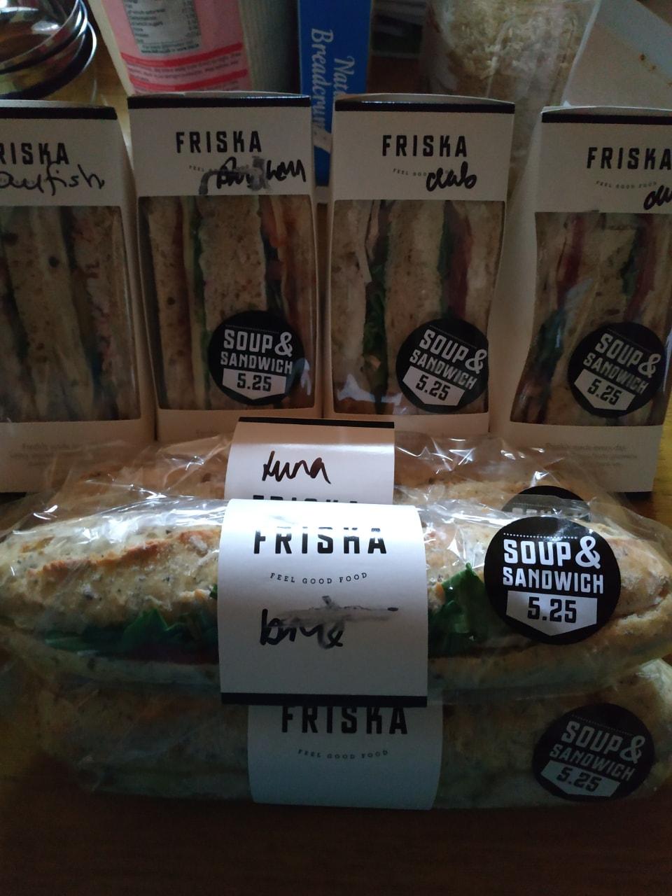 Friska - sandwiches and baguettes