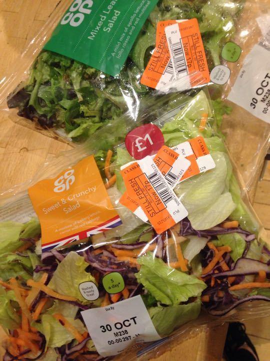 Salad bags
