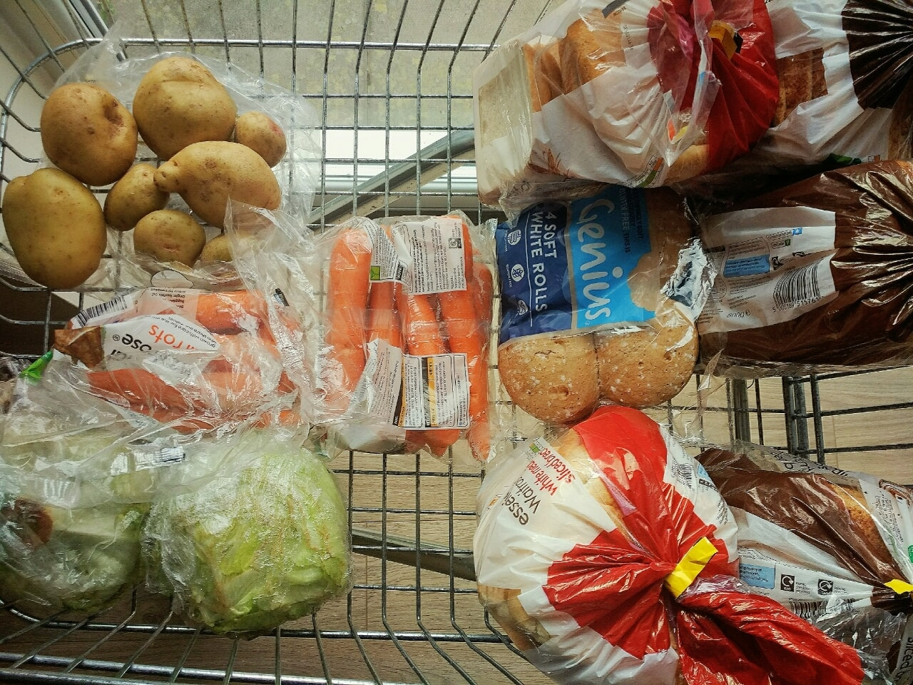 Surplus food from the Challenge