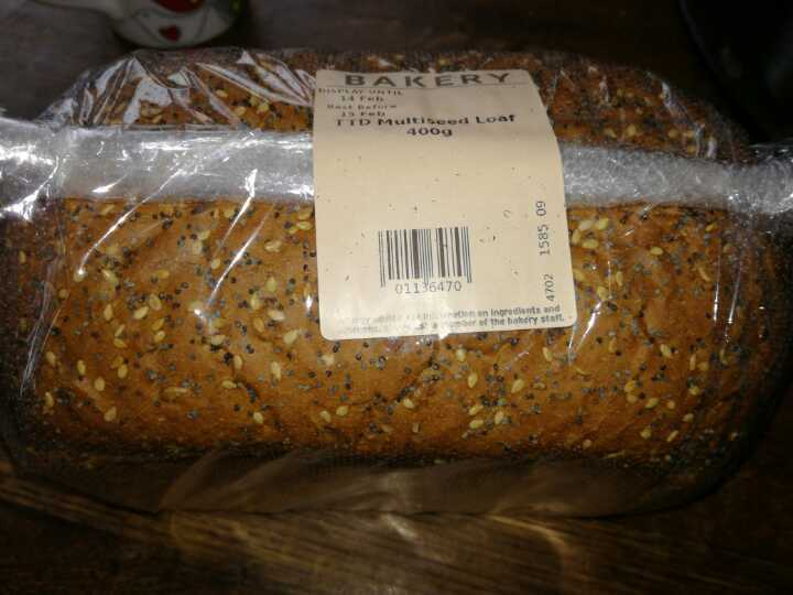 Sml multiseed loaf