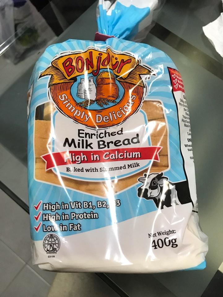 Bonjour Milk Bread