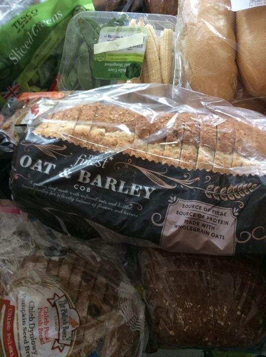 Tesco oat and barley bread