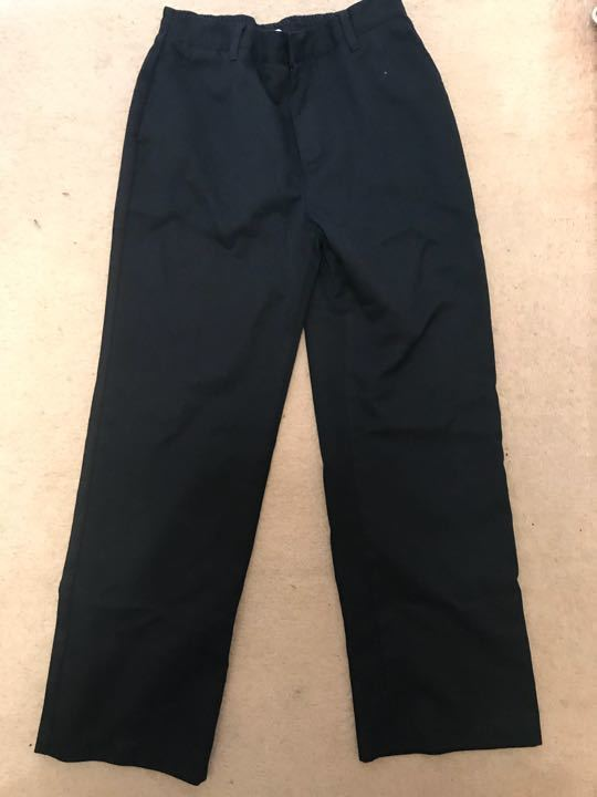 Navy school trousers age 10-11