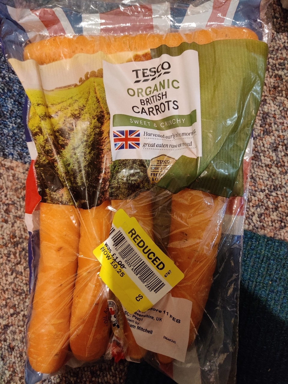 Tesco Carrots