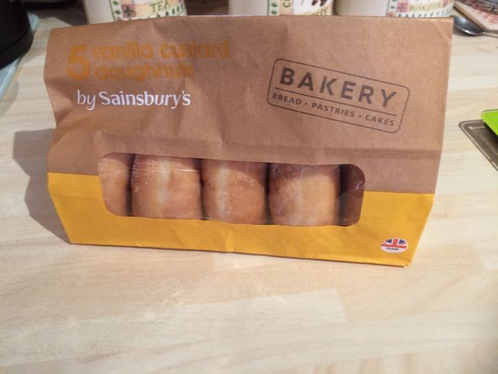 Vanilla doughnuts