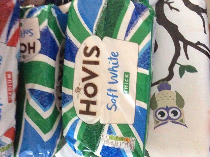 Hovis thick white sliced bread