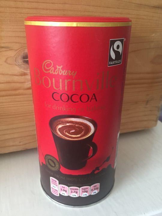1/4 container cocoa powder