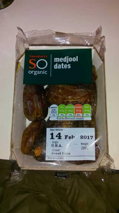 Organic Medjool Dates 200g