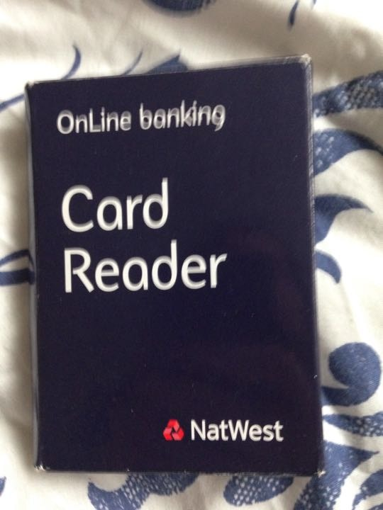 NatWest card reader