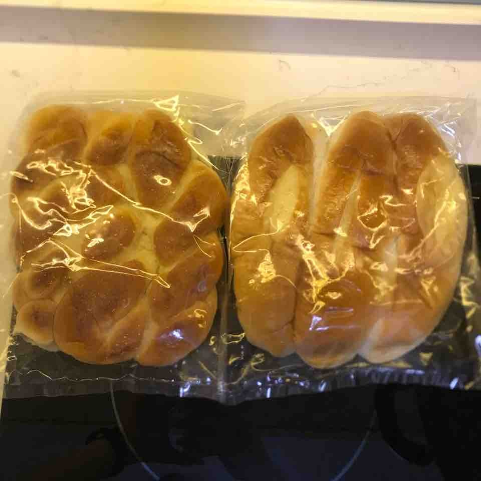 2 packets bread