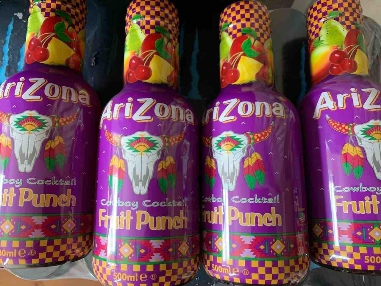 Arizona fruit punch ( 2 bottles per person please)