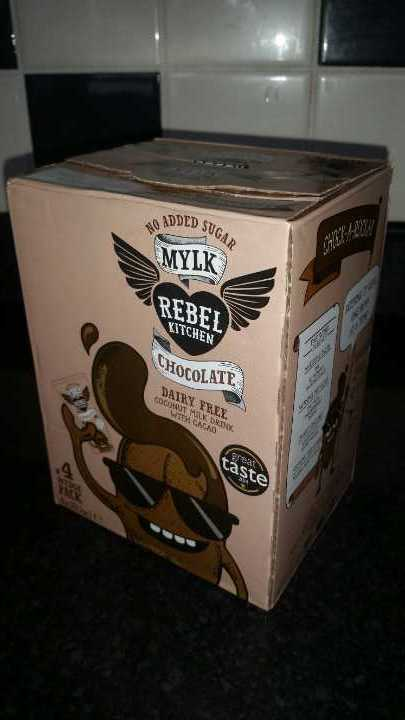 Rebel Kitchen Mylk Chocolate coconut drink