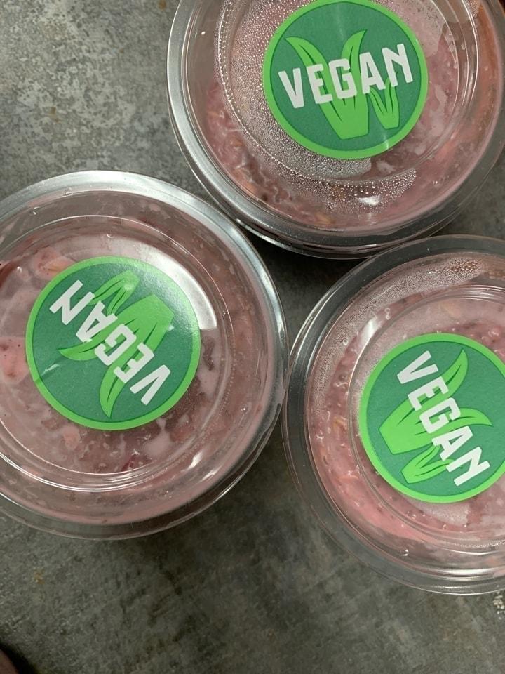 Vegan Porridge Pots x2