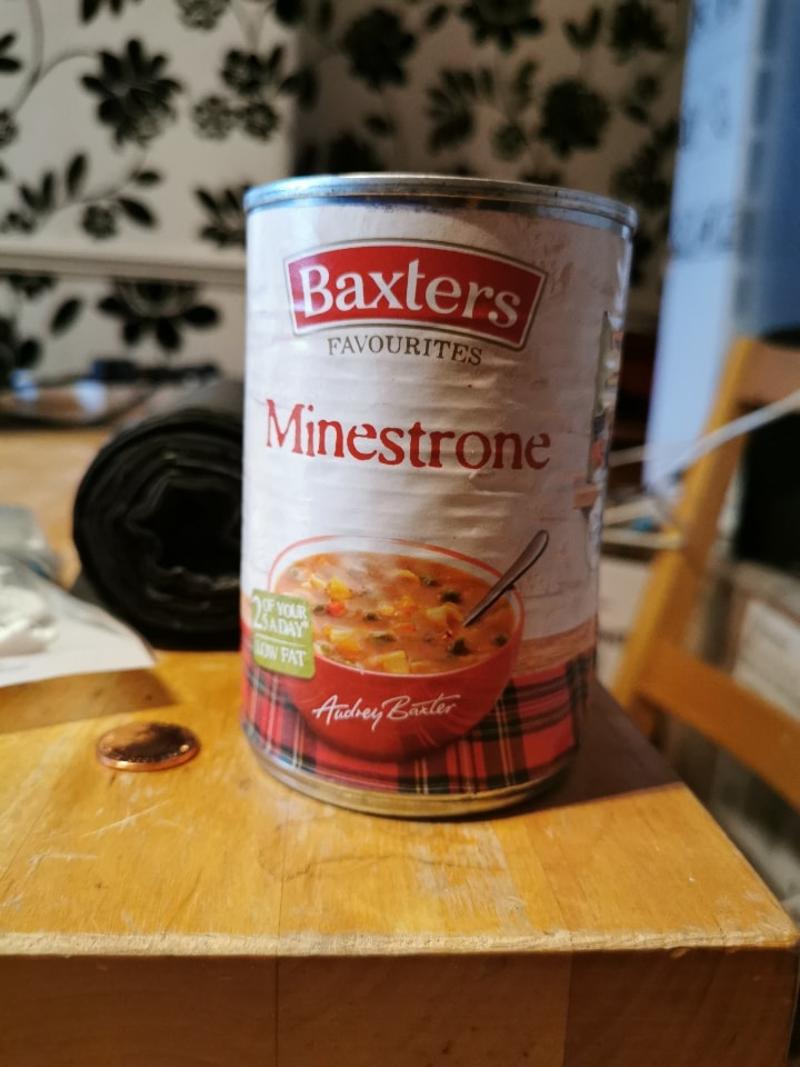 Baxters Minestrone Soup - suitable for vegetarians