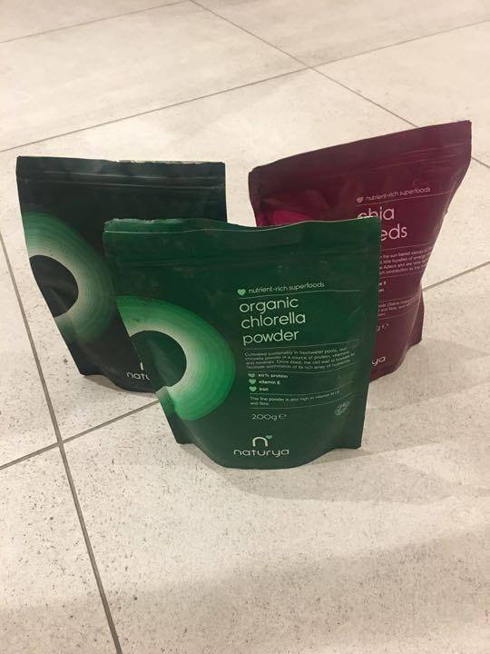 Naturya products (expired)