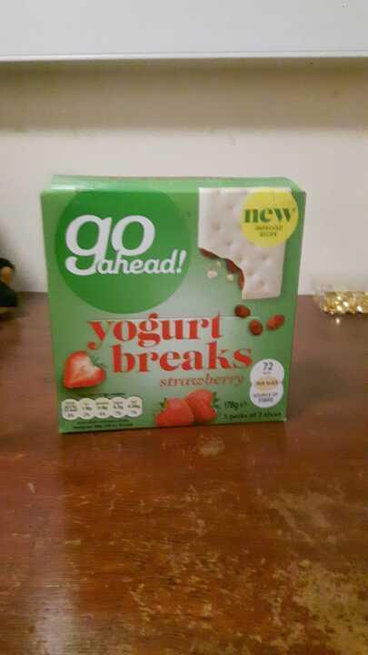 Go ahead yoghurt breaks