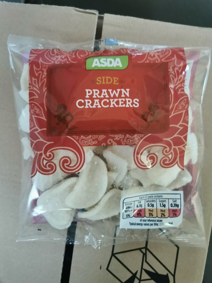 Prawn Crackers Best Before 2.1.2021