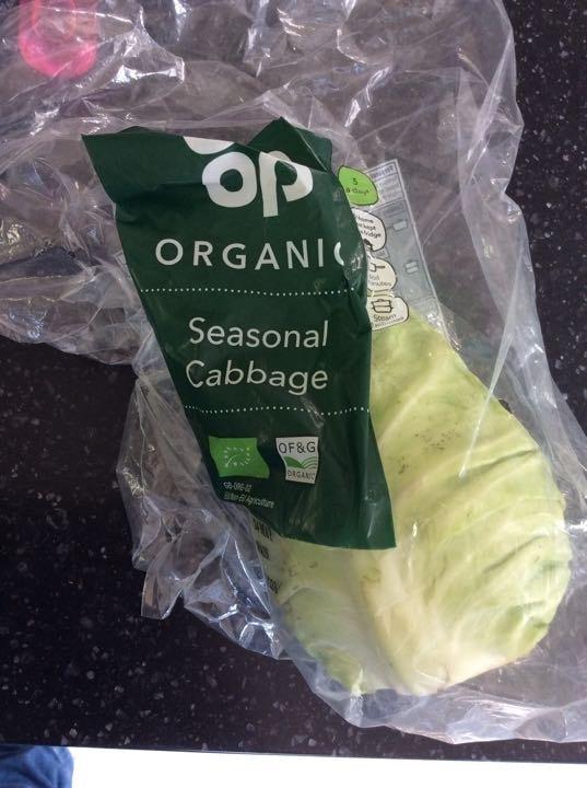 Organic seasonal cabbage