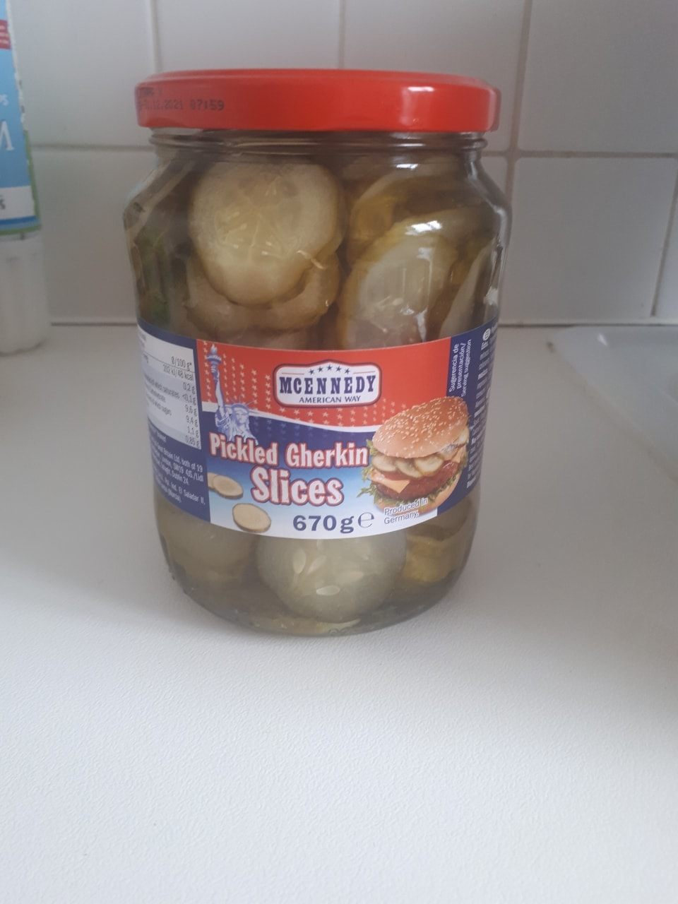American pickled gherkins