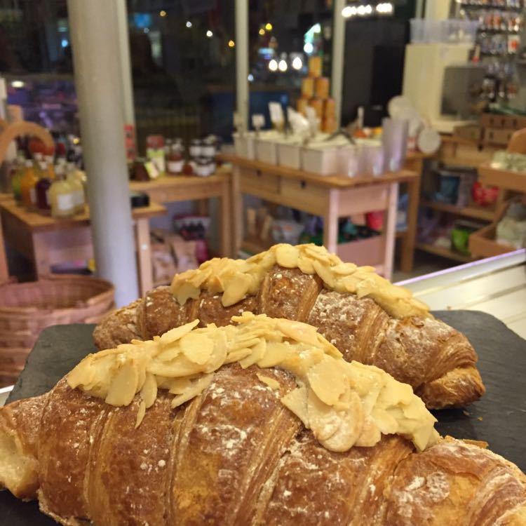 Flour Station Almond Croissant
