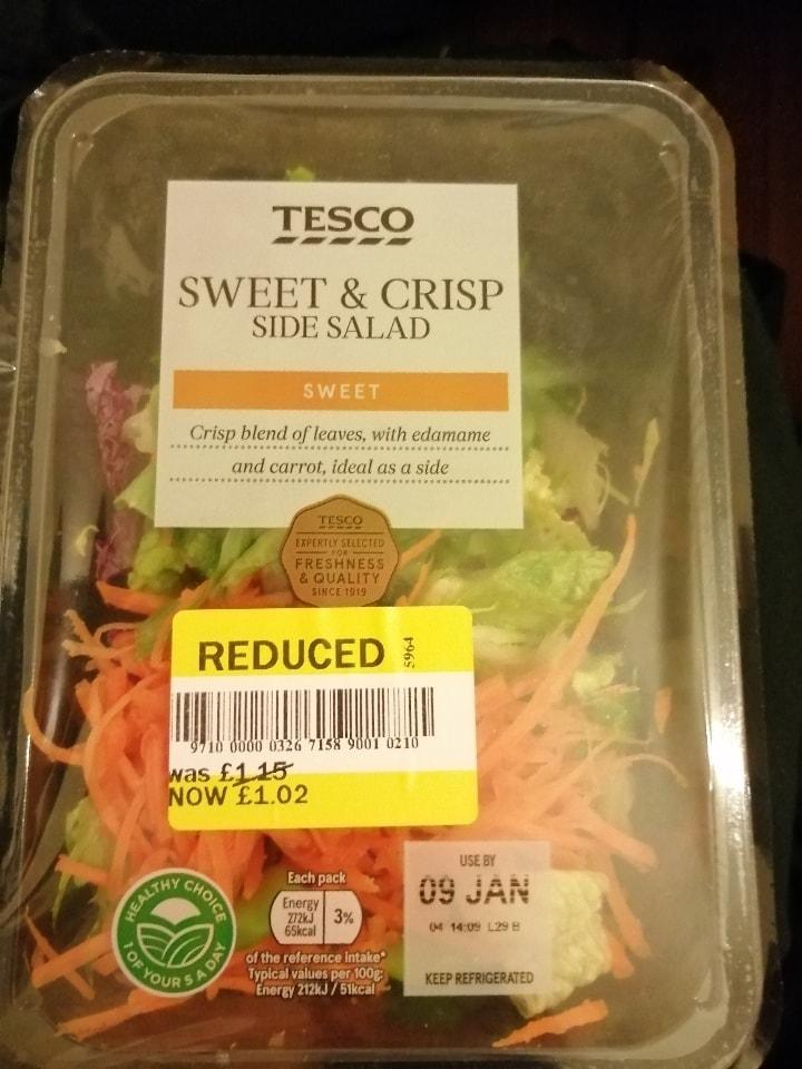 Tesco salad