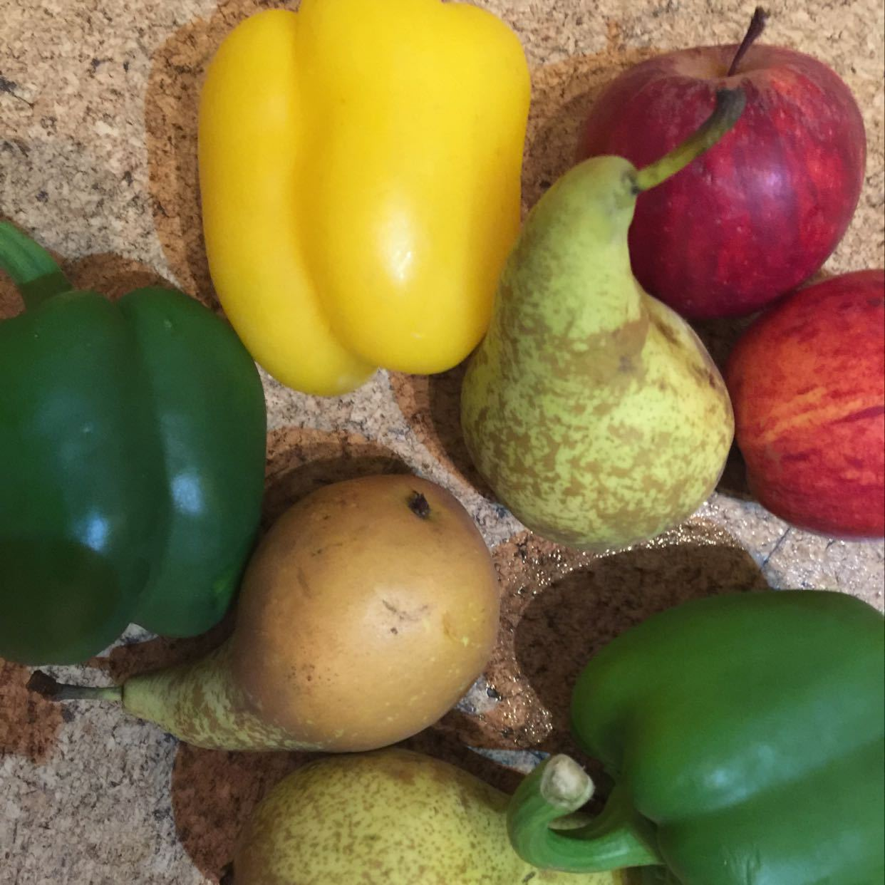 Spare fruit and veg
