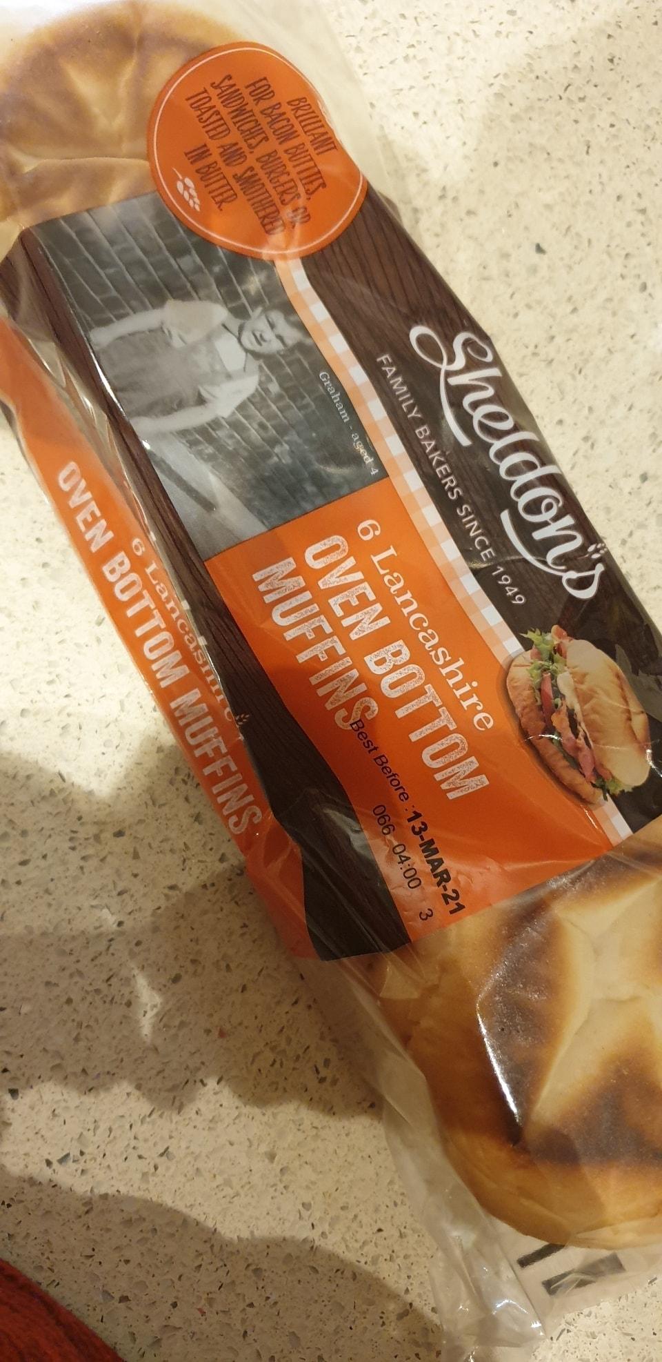 Oven bottom muffins (tesco rescue)