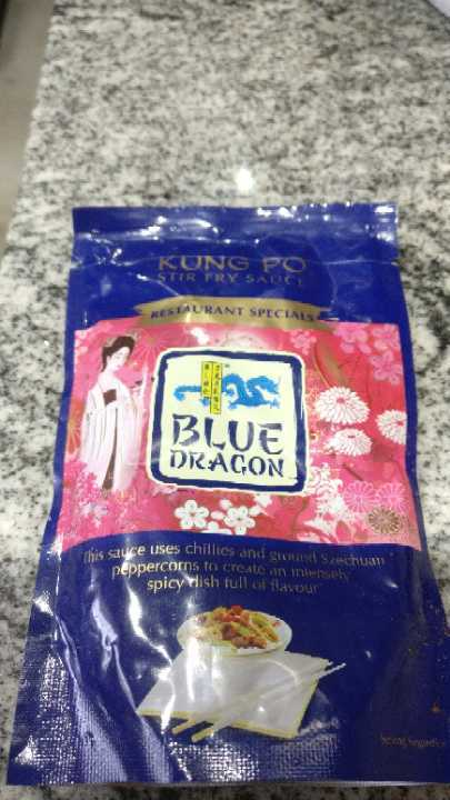 Blue dragon Kung Po sauce (past BBE)