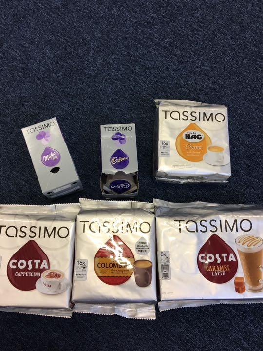 Tassimo pods (out of date)