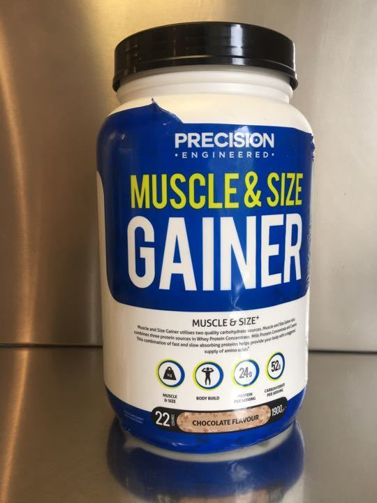 Muscle size gainer