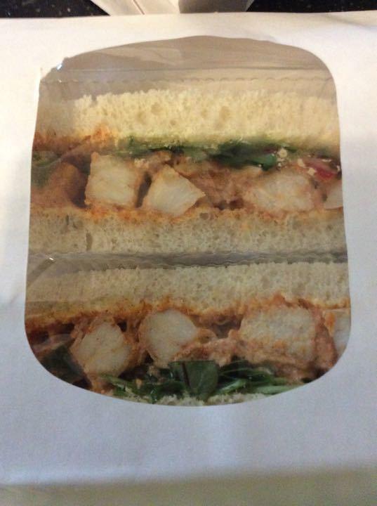 Mexican chicken sandwich