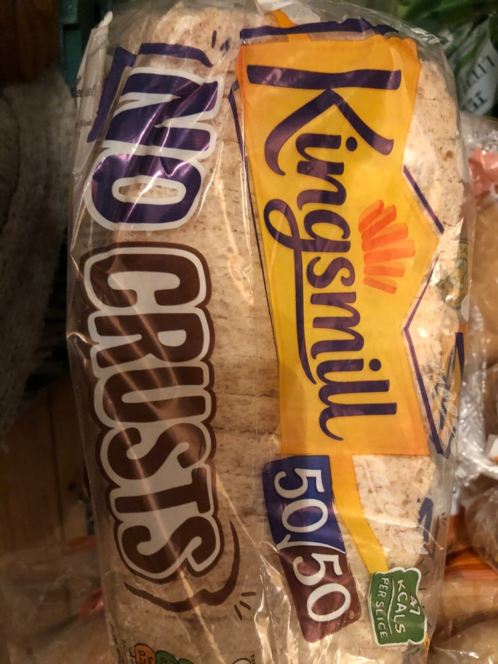 Tesco-kingsmill 50/50 no crust 400g loaf