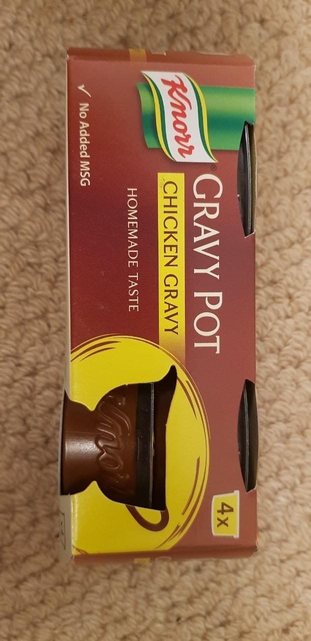 Knorr Chicken Gravy Pot