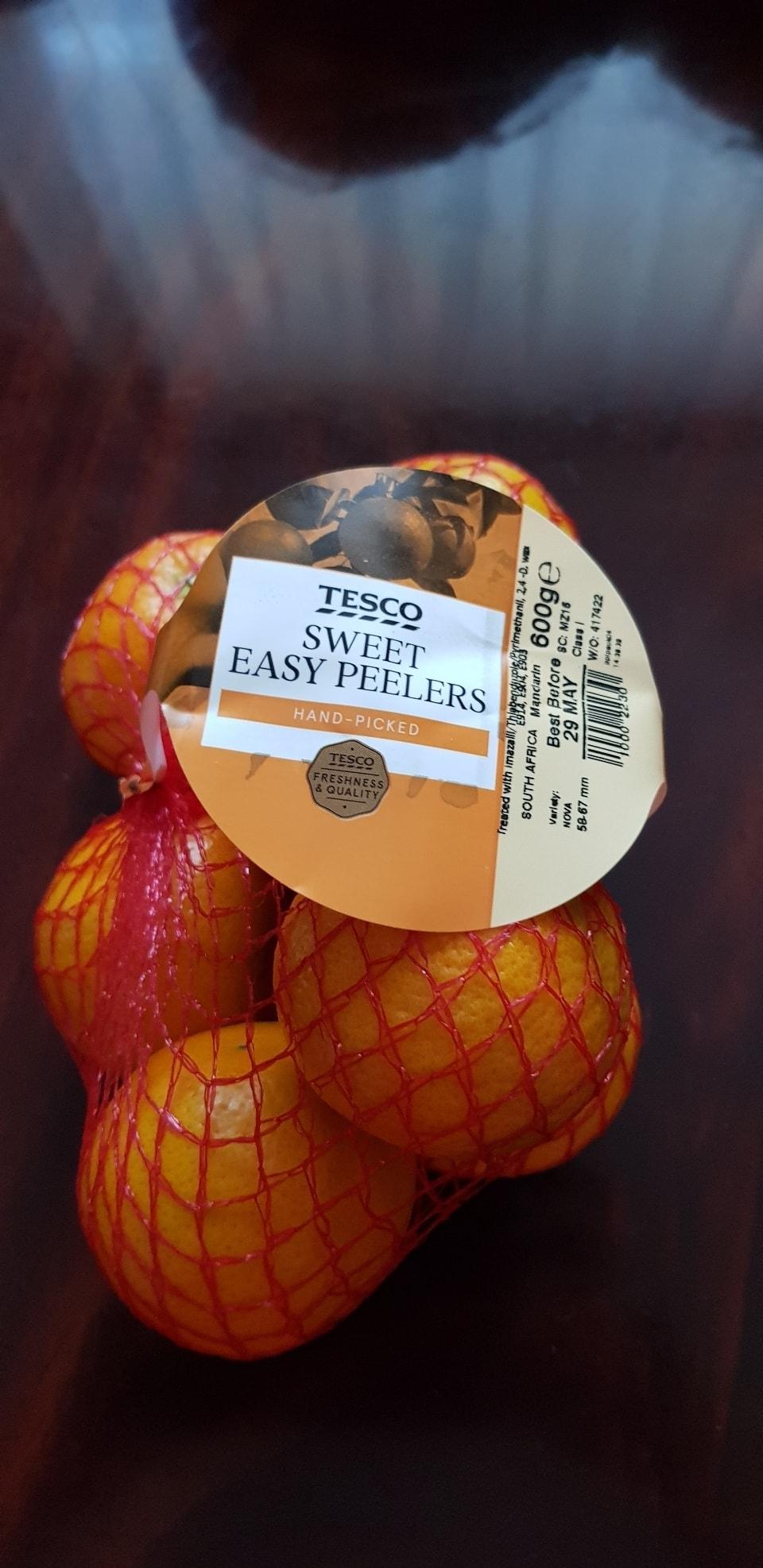 Sweet easy peelers