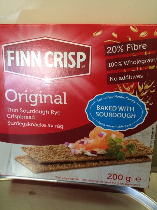 Finn Crisp sourdough rye crispbreads