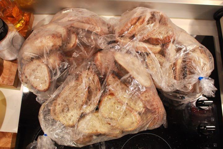 Sourdough bread (frozen)