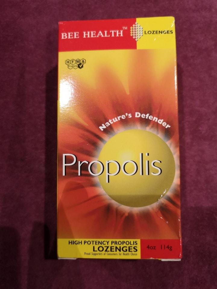 Propolis lozenges