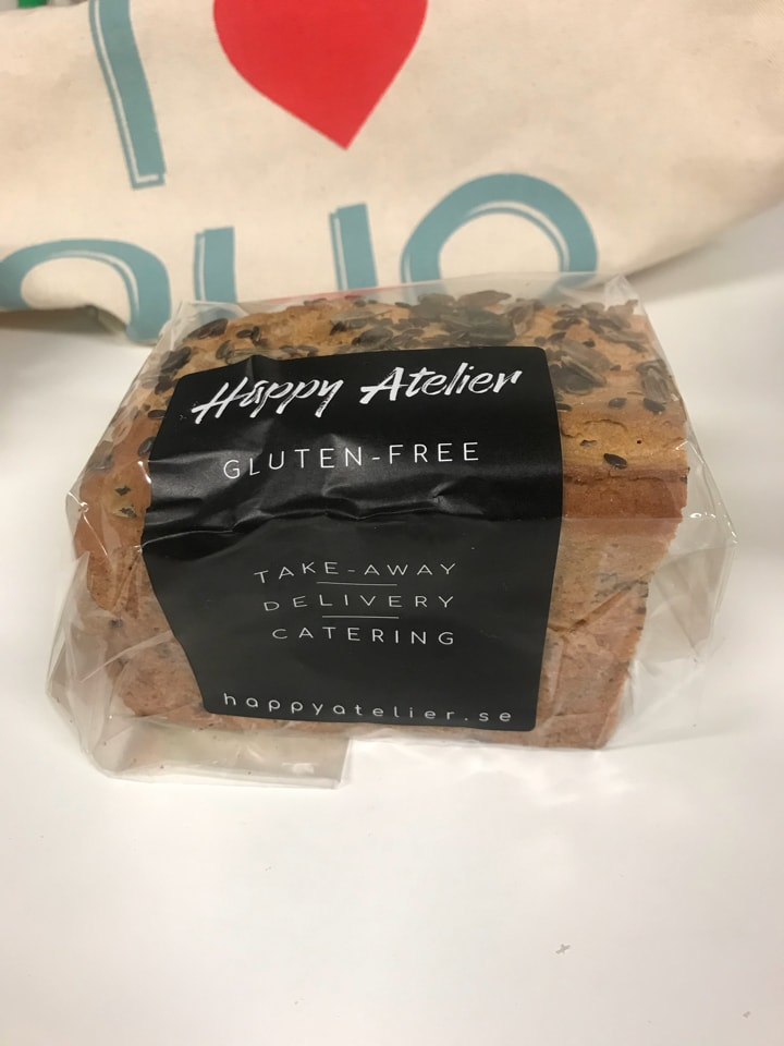 Glutenfree bread from Happy Atelier