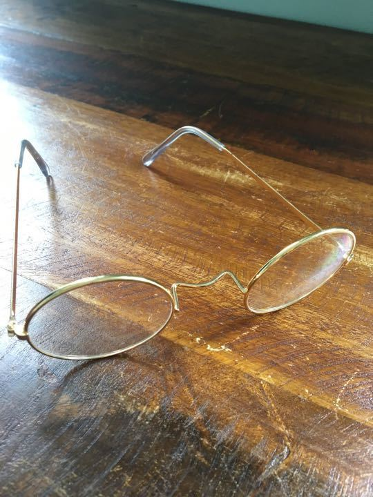Plastic fancy dress glasses