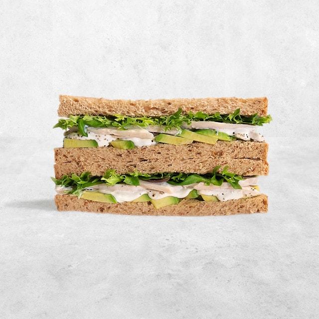 PRET egg and cress sandwich