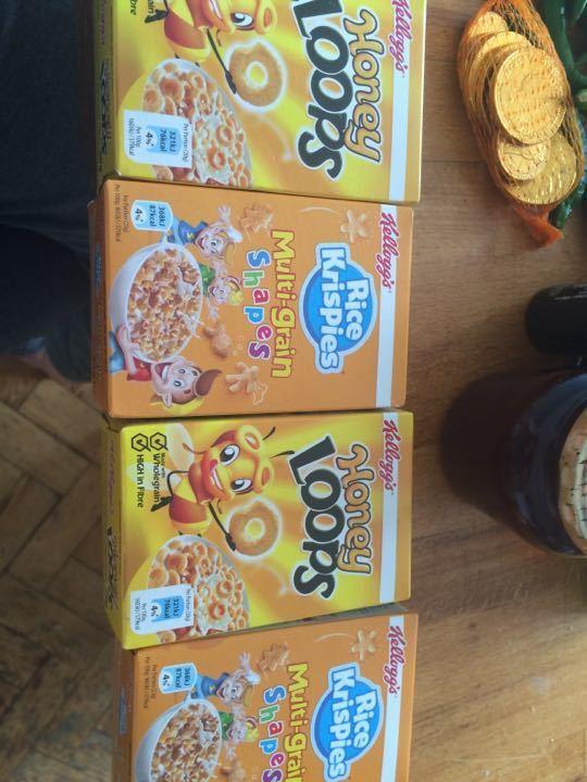 Miniature Kellogg's cereal