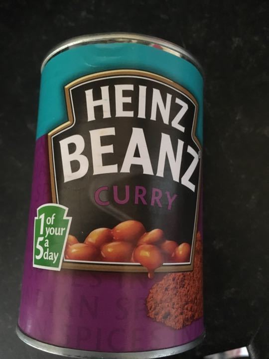 Heinz curried beans