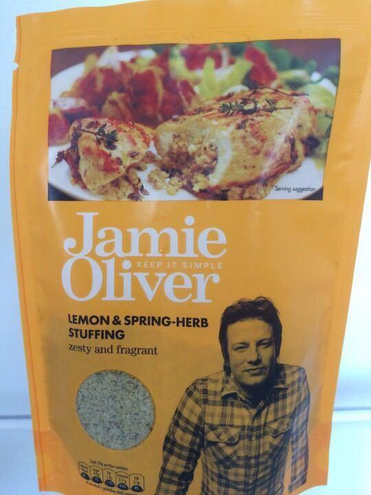Jamie Oliver Lemon & Herb stuffing