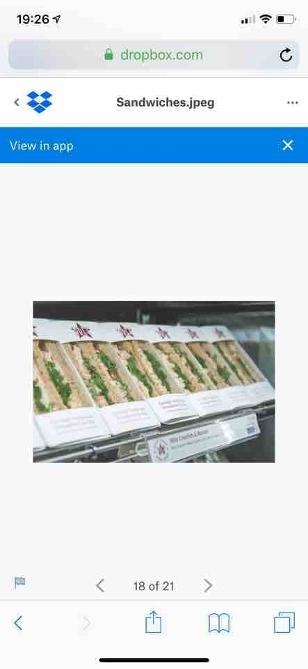 Pret - Sandwiches - meaty