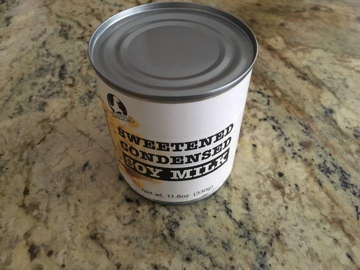 Sweetened condensed soymilk