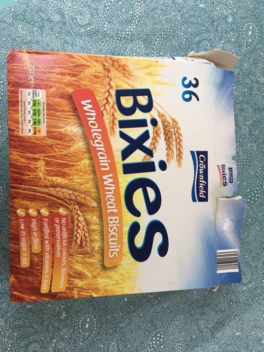 Bixies- Wholegrain Wheat Biscuits
