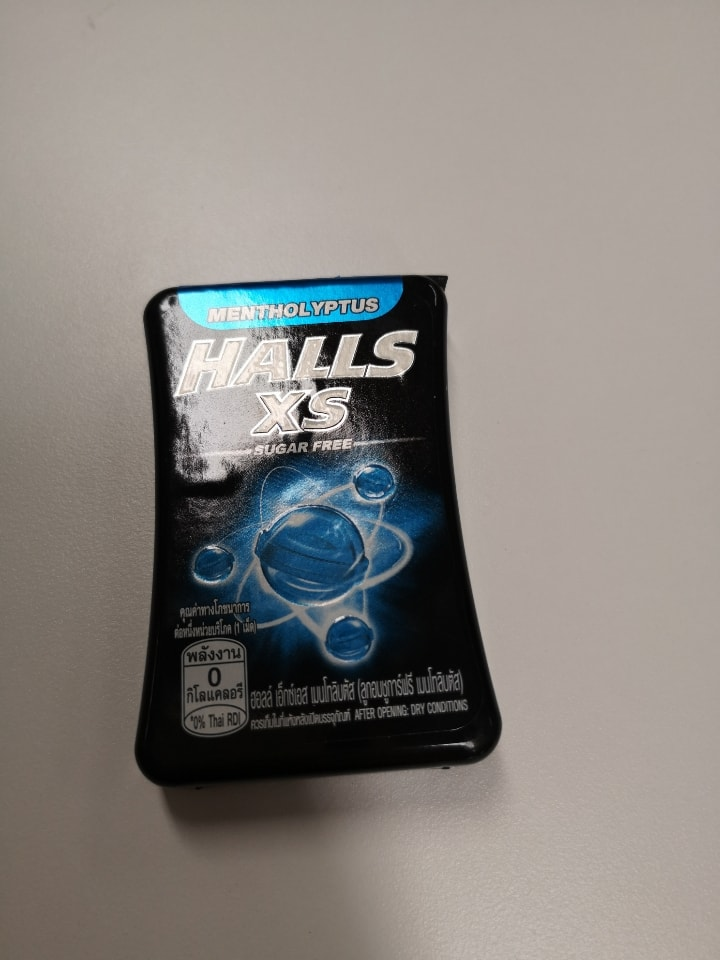 Expired Halls XS Candy