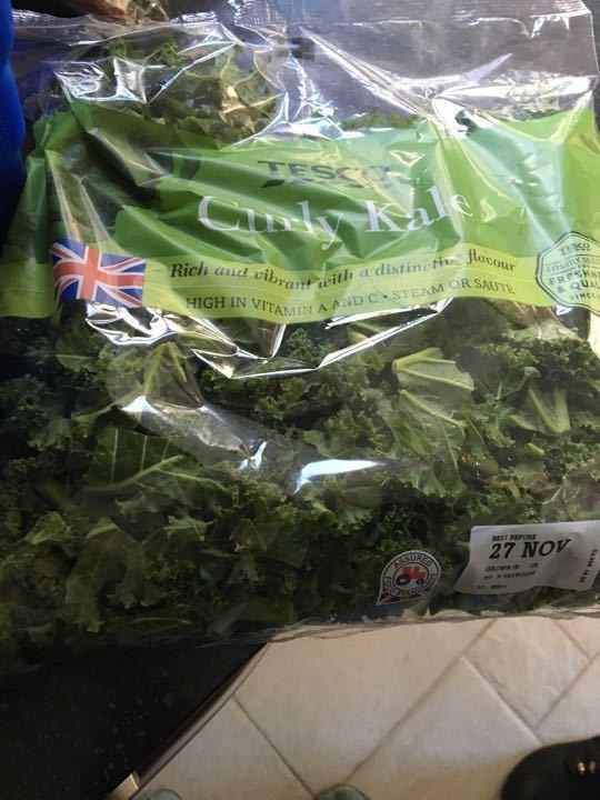 206g bag curly kale